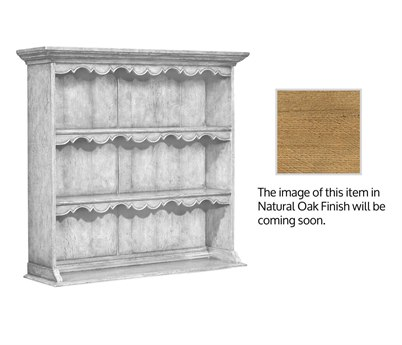 Jonathan Charles Natural Oak Light Natural Oak 46 x 13.5 Bookcase