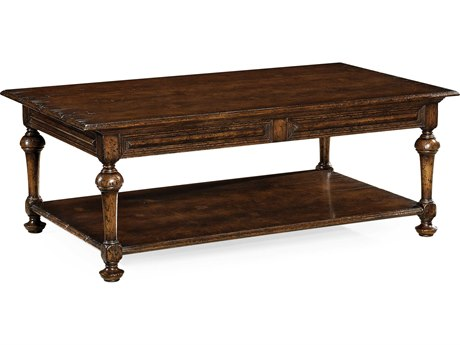 Jonathan Charles Tudor Oak Dark Brown Tudor Oak 54 x 32 Rectangular Coffee Table