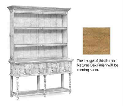 Jonathan Charles Natural Oak Light Natural Oak Double Dresser