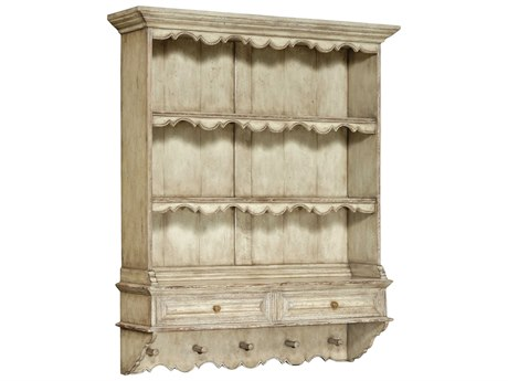 Jonathan Charles Country Farmhouse Painted Country Sage 46 x 12.75 Bookcase