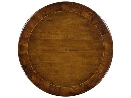 Jonathan Charles Huntingdon Medium Walnut 22 Round Pedestal Table
