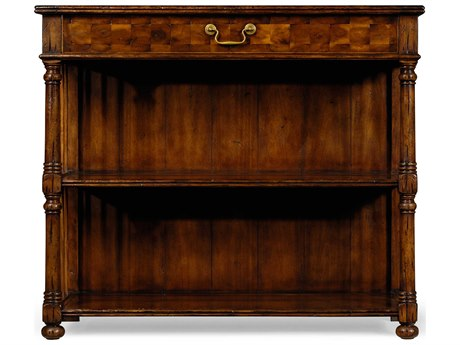 Jonathan Charles Huntingdon Medium Walnut 42 x 16 Bookcase