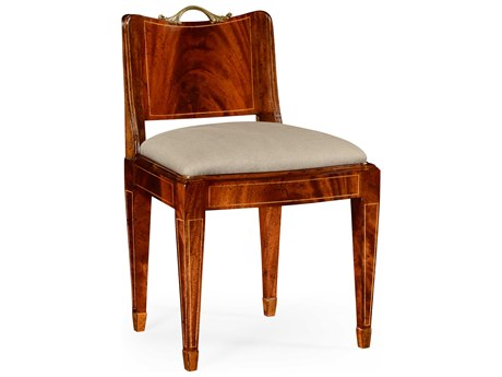 Jonathan Charles Buckingham Light Antique Mahogany Accent Chair