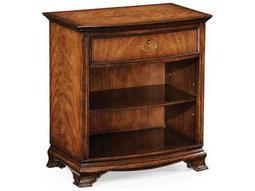 Jonathan Charles Windsor Medium Crotch Walnut Bedside Cabinet