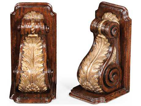 Jonathan Charles Windsor Medium Walnut Book End