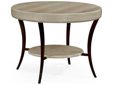 Jonathan Charles Opera collection Grey Sycamore Finish Foyer Table