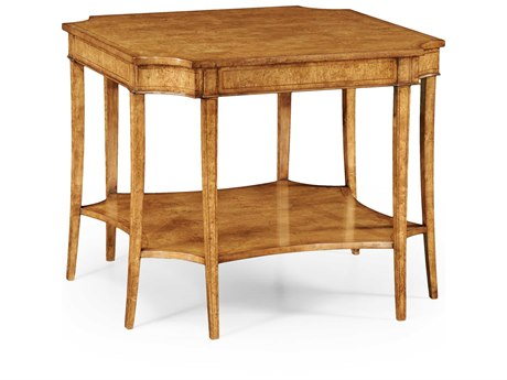 Jonathan Charles Luxe Light Masur Birch 36 Square Console Table