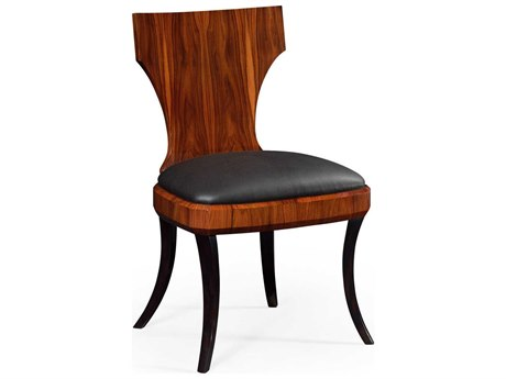 Jonathan Charles Santos collection Santos Rosewood Satin Accent Side Chair