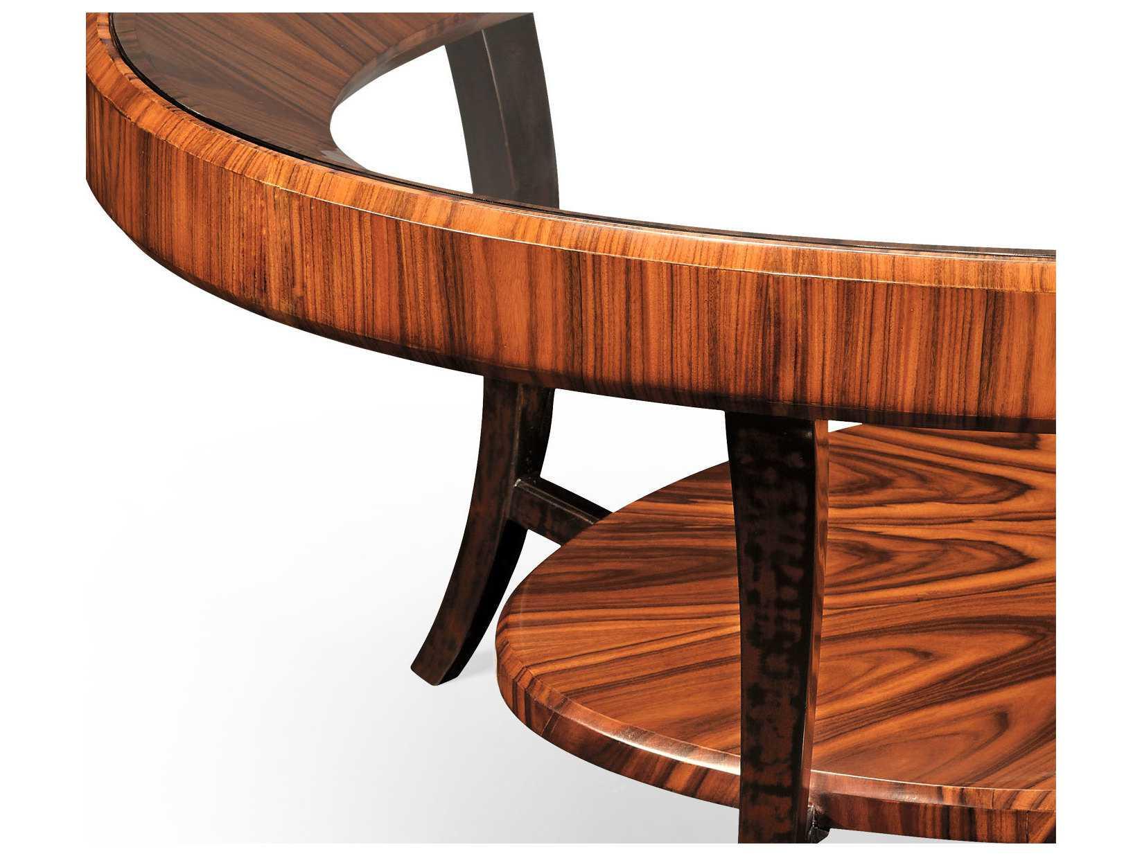 Jonathan Charles Santos Collection Santos Rosewood High Lustre - Santos coffee table