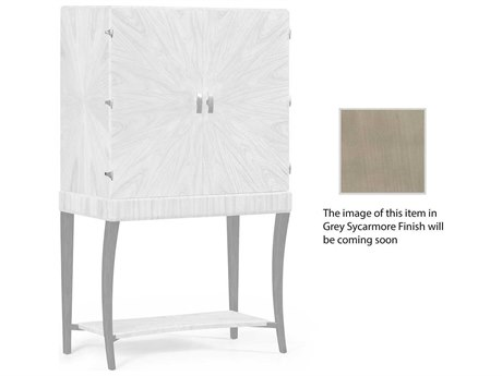 Jonathan Charles Opera collection Grey Sycamore Finish Cabinet Bar