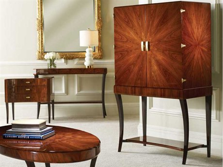Jonathan Charles Santos collection Santos Rosewood High Lustre Cabinet Bar