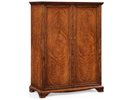 Jonathan Charles Windsor Anthracite Shagreen Wardrobe Armoire