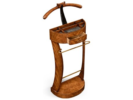 Jonathan Charles Windsor Medium Antique Mahogany Valet Stand Rack