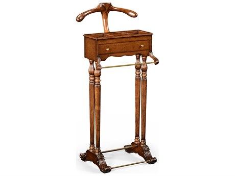 Jonathan Charles Windsor Medium Antique Mahogany Valet Stand Rack