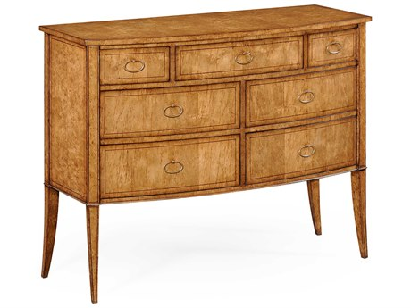 Jonathan Charles Luxe Medium Antique Mahogany Chest