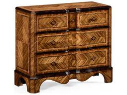 Jonathan Charles Moroccan Light Antique Gold-Leaf With Carved Floral Detail Chest
