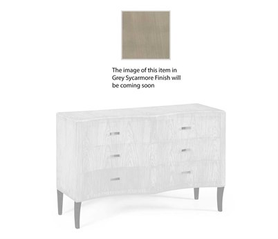Jonathan Charles Opera collection Grey Sycamore Finish Chest of Drawers