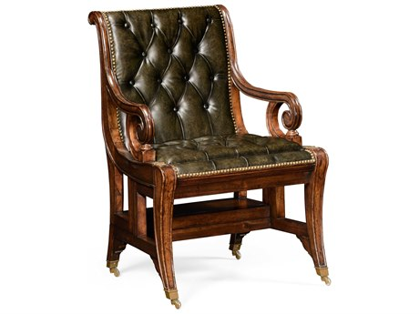 Jonathan Charles Windsor Medium Walnut Executive Chair
