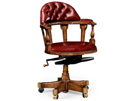 Jonathan Charles Windsor Collection Walnut Medium Captain's Chair