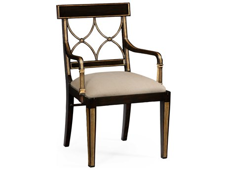 Jonathan Charles Kensington Ebonized Dining Chair