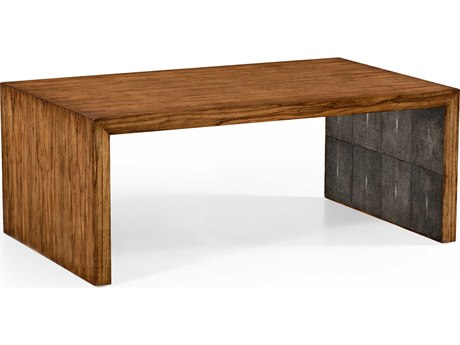 Jonathan Charles Moroccan Light Argentinean Walnut 50 x 30 Rectangular Coffee Table