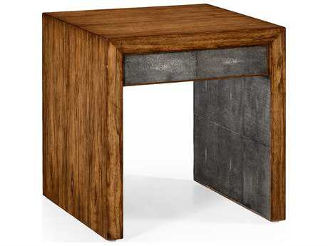 Jonathan Charles Moroccan Light Argentinean Walnut 24 Square End Table