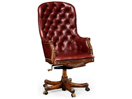 Jonathan Charles Buckingham collection Antique Mahogany Medium Executive Chair