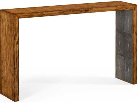Jonathan Charles Moroccan Light Argentinean Walnut 60 x 14 Rectangular Console Table