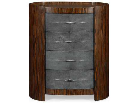 Jonathan Charles Metropolitan collection Faux Macassar Ebony Nightstand