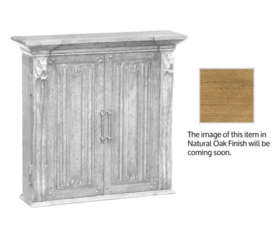 Jonathan Charles Natural Oak Natural Light Oak On Veneer Console Cabinet