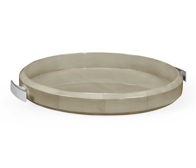 Jonathan Charles Opera collection Grey Sycamore Finish Tray