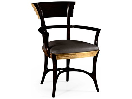Jonathan Charles Luxe Ebonized Dining Chair