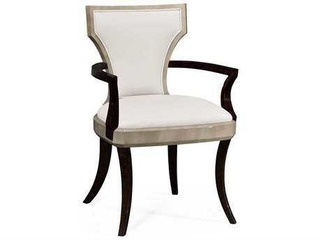 Jonathan Charles Opera collection Grey Sycamore Finish Accent Arm Chair