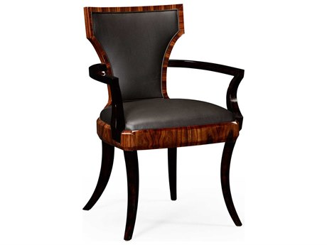 Jonathan Charles Santos collection Santos Rosewood High Lustre Accent Arm Chair