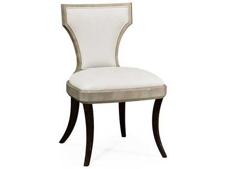 Jonathan Charles Opera collection Grey Sycamore Finish Accent Side Chair