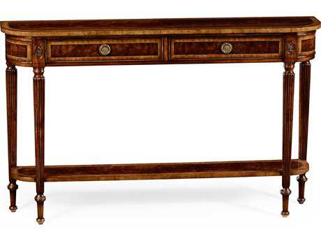 Jonathan Charles Buckingham Medium Antique Mahogany 54 x 11 Rectangular Console Table