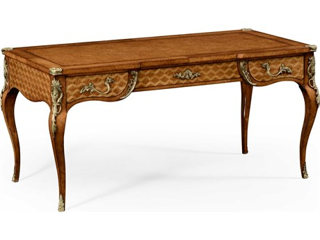 Jonathan Charles Versailles Light Satinwood Conference Desk