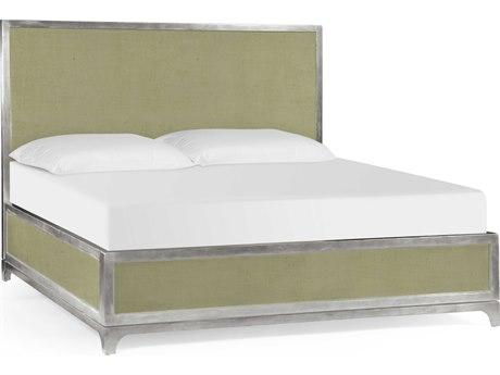Jonathan Charles Alexander Julian Lichen Homespun King Platform Bed