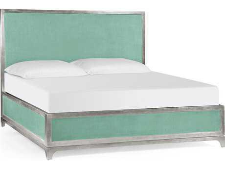Jonathan Charles Alexander Julian Robins Egg Homespun King Platform Bed
