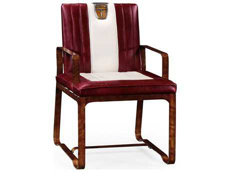 Jonathan Charles Detroit collection Daniella Medium Finish On Veneer Accent Arm Chair