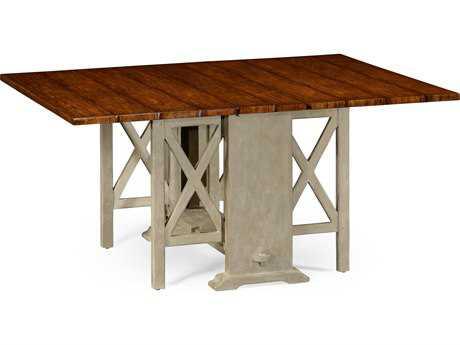 Jonathan Charles Huntingdon Country Farmhouse Walnut 48 x 16 Rectangular Dining Table