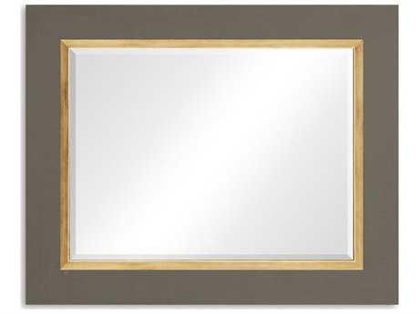 Jonathan Charles Alexander Julian 48 x 39 Slate Homespun (Taupe Wall Mirror