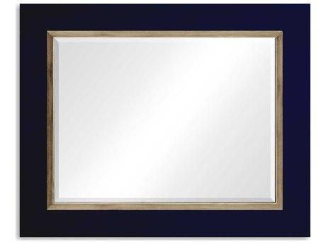 Jonathan Charles Alexander Julian 48 x 39 British Navy Blue Wall Mirror