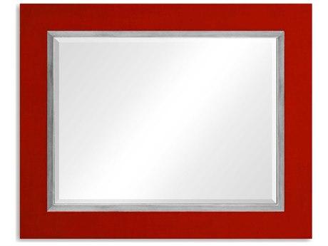 Jonathan Charles Alexander Julian 48 x 39 Lipstick Homespun Wall Mirror