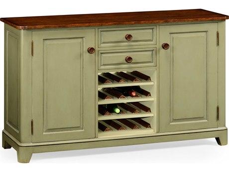 Jonathan Charles Huntingdon Painted Antique Ruskin Room Green 60 x 20 Buffet