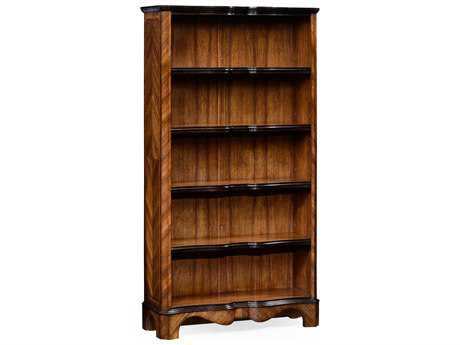 Jonathan Charles Moroccan Medium Argentinean Walnut 42 x 15.75 Bookcase
