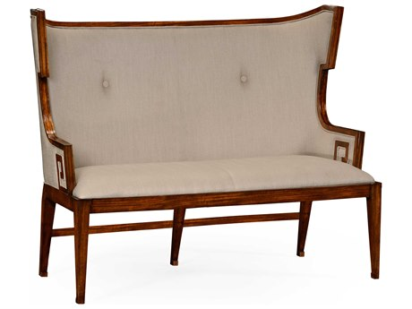 Jonathan Charles Windsor Medium Walnut Accent Bench