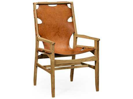 Jonathan Charles Architects House Light Washed Oak Accent Chair