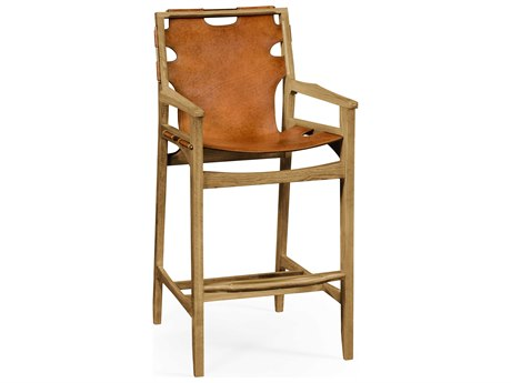 Jonathan Charles Architects House Light Washed Oak Bar Stool