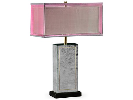 Jonathan Charles Luxe Eglomise Table Lamp